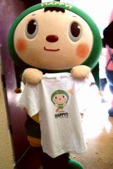プレゼントの特製HAPPY!高円寺Tシャツ